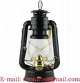 Hurricane Lantern - Gold/Black Finishes (D76)