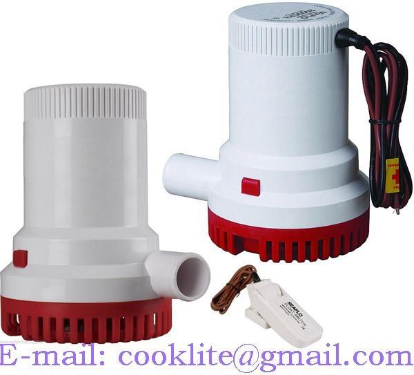 Pompa de santina / Pompa submersibila 12V/24V 1500GPH