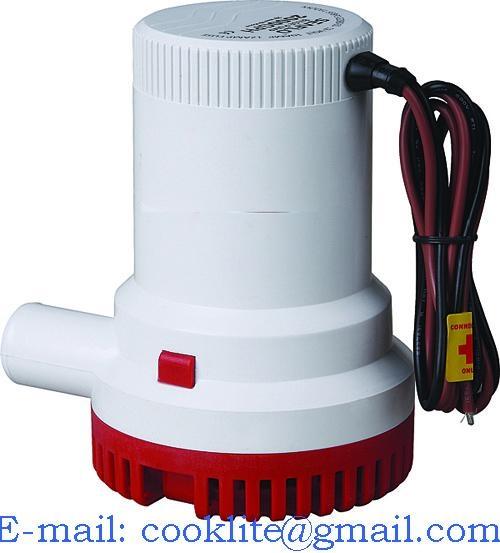 Bilgepumpe Lenzpumpe Wasserpump Tauchpump bilgenpumpe - 12V/24V 1500GPH
