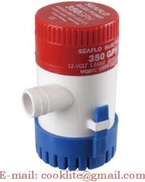 Bomba porão submersível / Bomba D'água submersa – 12V/24V 350GPH
