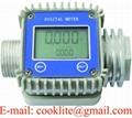 Turbine Electronic AdBlue/Def/Urea Chemical Flow Meter K24 Digital Diesel Water