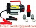 12/24V DC Electric Oil Diesel Fuel Transfer Pump / Diesel Fuel Dispenser - 175W