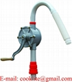 Aluminum Hand Operated Rotary Drum Pump