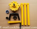 RP-90P Polypropylene Hand Rotary Drum Pump for Dispensing Chemicals