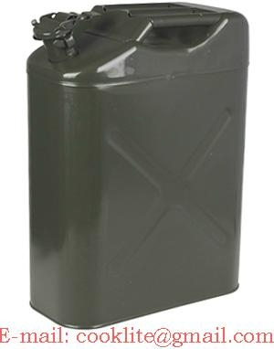 UN Approved NATO Green 20 Litre Jerry Can