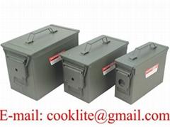 Caja de municiones militar Caja municion metal estanco