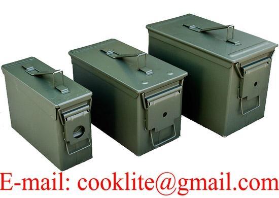 Vojna kutija za municiju Američka čelična kutija za streljivo