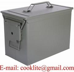 Askeri mühimmat kutusu / Metal fişek saklama kutusu