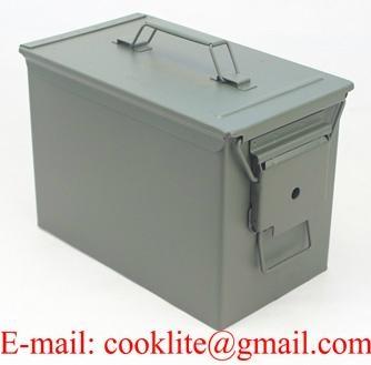 Stalen munitiekist legerkist munitie kist munitie doos