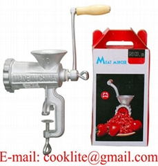 Manual Cast Iron Meat Grinder / Manual Household Mear Mincer #8