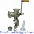 Moledor de carne manual Molino de prensa para carne Maquina de picar carne #5