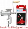 Máquina para moer carne manual / Moedor Picador de carne manual de fundición