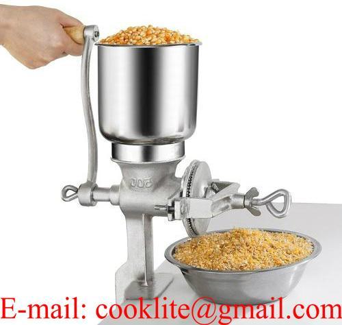 Molino metálico manual para granos,maíz,quesos,cacao