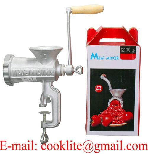 Moulin à viande manuel en fonte / Hachoir à viande manuel en fonte