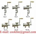 Maquina para moer carne manual / Picadora moedor picador de carne manual