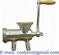 Máquina de picar carne manual / Máquina picar carne manual metalica Nº 32