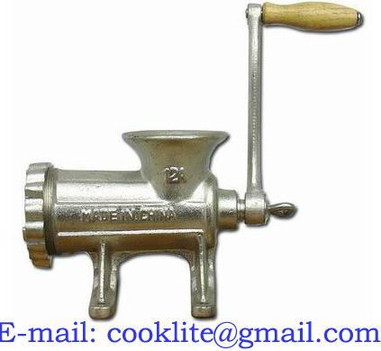 Molino moledor de carne manual en hierro fundido #12
