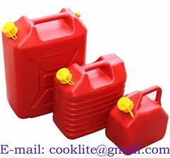 Plastic Fuel Petrol Diesel Jerry Can