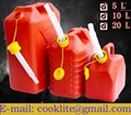 Plastic petrol can jerry can oil diesel fuel can storage car van with spout