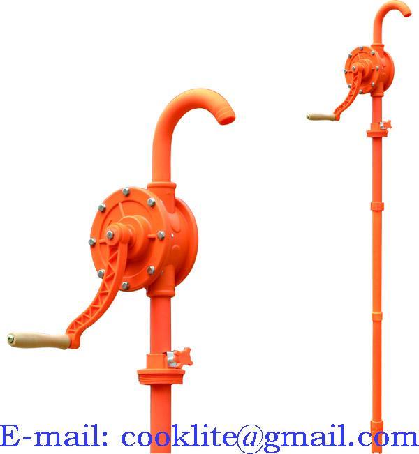 Hand Rotary Gas Oil Fuel Pump Dispenser