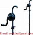 Aluminum and Plastic Rotary Hand Drum Pump 6