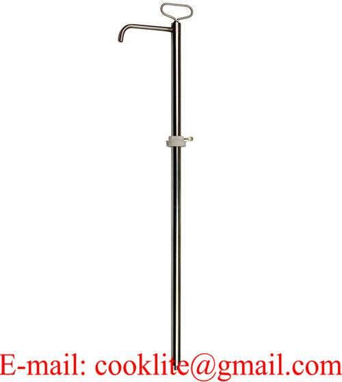 Aluminum and Plastic Rotary Hand Drum Pump 12