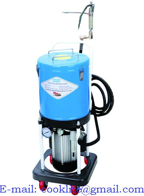 Automatic lubricator electric grease dispenser