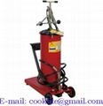 Wheeled manual grease lubricator pedal pump - 12L