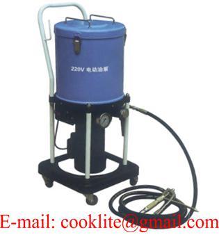 Smarownica elektryczna pojemnik 16kg na kółkach