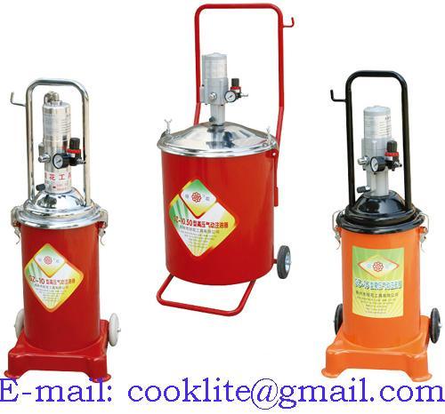 Установка для раздачи масла с пневматическим приводом