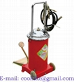 Mobile foot grease pump lubrication bucket 12L