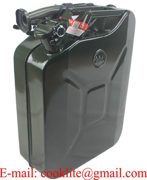 NATO Jerry Steel Fuel Can 20L