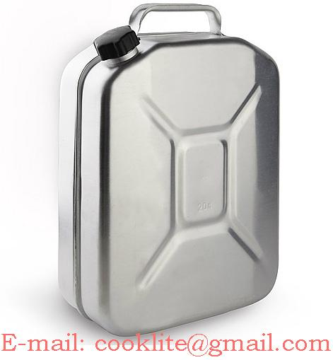 Aluminum Civilian and Military Fuel Jerry Can 10 Litre
