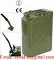 NATO Style 20L Jerry Can Steel Fuel Tank