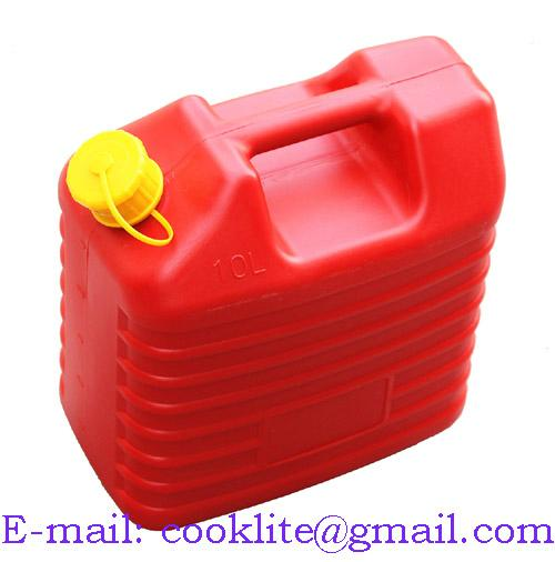Plastic Fuel Jerry Can Petrol Diesel Water Jerrycan 10 Litre