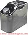 Tanica in Acciaio Inox / Tanica carburante / Tanica Benzina 10L