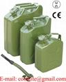Metaal brandstof jerrycan voor benzine en diesel UN-keur