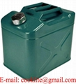 Deposito Combustible Jerrycan con Canula 20L