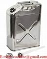 Jerrican de sécurité en acier inox 20 litres