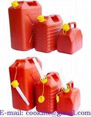 Plastik Benzin Yakıt Bidonu / Yedek Akaryakıt Bidonu