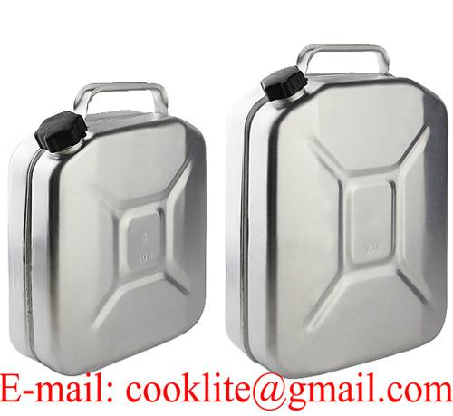 Kanister aluminiowy na wodę benzynę