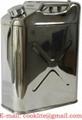Nerezová bandaska / Kanister z ušľachtilej ocele 20 litrov s výpusťou
