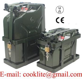 Príslušenství pro kanystry na pohonné hmoty z kovu