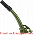 Semi Flexible Jerry Can Nozzle / Spout For NATO Style European Military Spec Steel Jerry Cans
