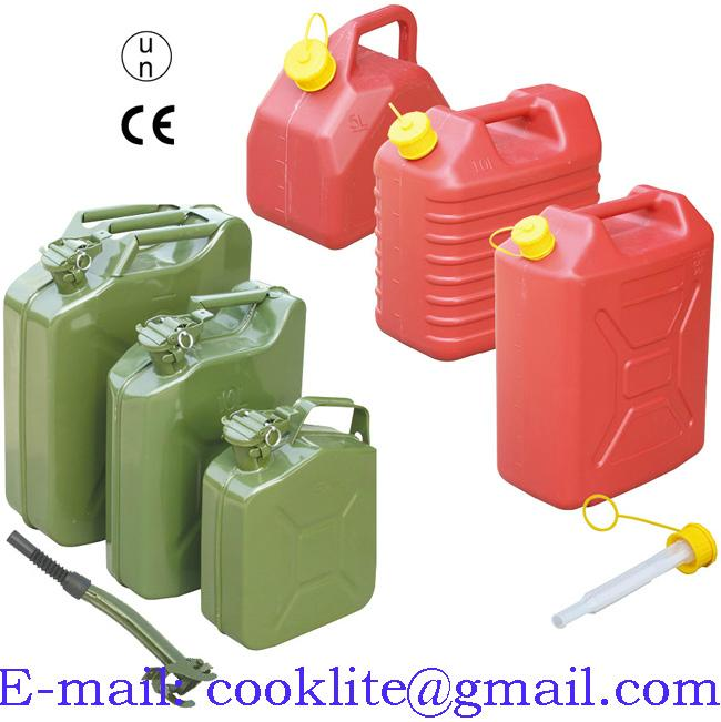 Jerry Can Diesel Petrol Oil Water Storage Military Style Can