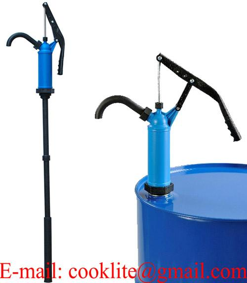 P-490 Lever Action Oil Chemical Transfer Drum Pump / Plastic Lever Hand Pump