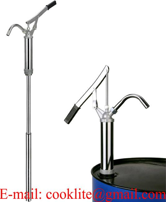 D-490 Hand Operated Self-Priming Lever Steel Drum Barrel Pump