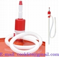Hand Operated Oil Transfer Pump / Plastic Siphon Syphon Pump - 25mm