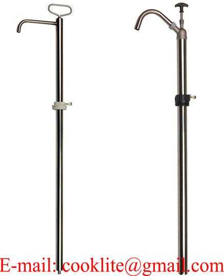 Steel vertical lift pump / Hand pump for dispensing and transfer liquids