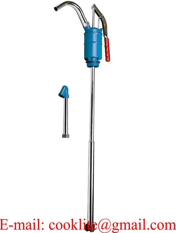 Bomba manual de aceite para transvase para bidon de 60 - 205 lts